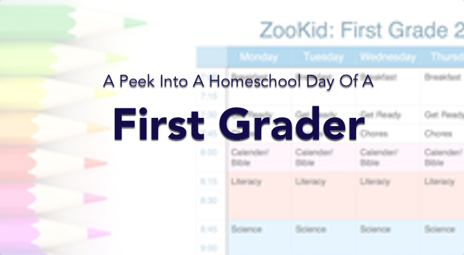 peek into a homeschool day of a first grader dear homeschooler. Black Bedroom Furniture Sets. Home Design Ideas