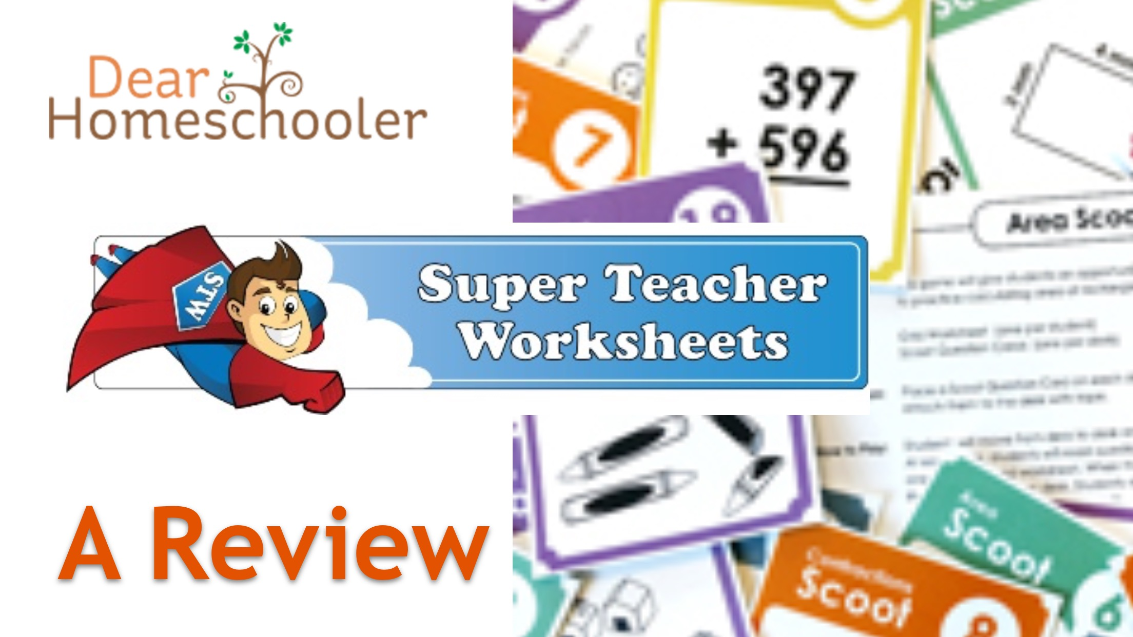 Super Teacher Worksheets: A Review • Dear Homeschooler